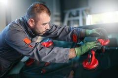 Ändrande exponeringsglas för mekaniker Royaltyfri Fotografi
