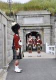 ändrande guard royaltyfria foton