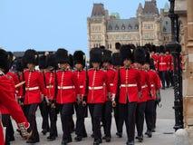 ändrande guard för ceremoni arkivfoton
