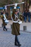 ändrande guard för ceremoni Arkivfoto