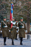 ändrande guard för ceremoni royaltyfria foton