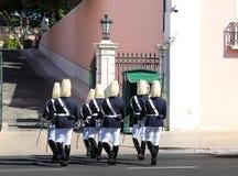 ändrande guard lisbon för belem ceremoniel royaltyfri foto
