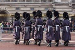 ändrande guards Royaltyfri Foto