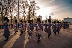 ändrande guards Royaltyfri Bild
