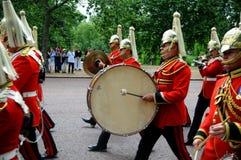 ändrande guards london för ceremoni royaltyfri fotografi