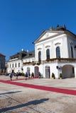 ändrande guards slovakia Arkivbilder
