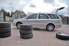 ändrande hjul Royaltyfri Bild
