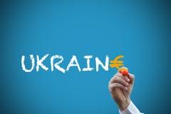 Ändrande Ukraina Fotografering för Bildbyråer