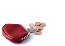ändrar den gammala plånboken Fotografering för Bildbyråer