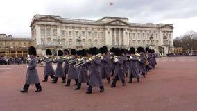 Ändring av vakten Buckingham Palace London UK Arkivbilder
