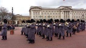 Ändring av vakten Buckingham Palace London UK Arkivbild