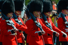 Ändring av vakten, london Royaltyfri Fotografi