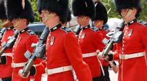 Ändring av vakten, London Arkivfoto