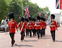 Ändring av vakten, London Royaltyfria Foton