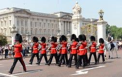 Ändring av vakten, London Arkivbilder