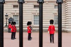 Ändring av vakten, London Arkivfoton