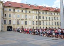 Ändring av vakten Prague - tjeck Royaltyfria Foton