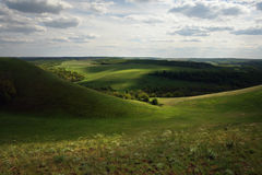 Ängar och fält av Ryssland arkivbilder