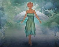ängel arkivbild