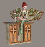 ängel royaltyfri illustrationer