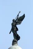 Ängel av segern uppe på kupolen av Victoria Memorial, Kolkata royaltyfria bilder