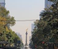 Ängel av självständighet, Mexico - stad, Mexico royaltyfria bilder