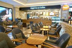 Ängel-i-oss kaffe Royaltyfri Bild