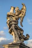 Ängel med kolonnen Royaltyfri Bild