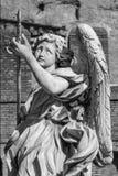 Ängel med lancen Royaltyfri Foto