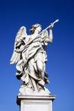 Ängel med spjutet, Domenico Guidi, 1639-1698, Rome, Italien Royaltyfri Foto
