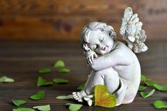 Ängel och hjärta-formade sidor Royaltyfri Foto