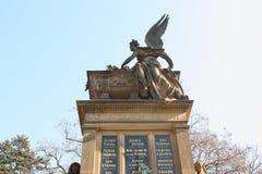 Ängel på den Vysehrad Slavin kyrkogården Royaltyfri Fotografi
