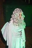 Ängel på Halloween Arkivbild
