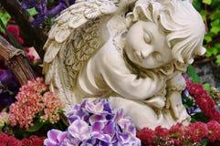 Ängel på kyrkogård Royaltyfri Fotografi
