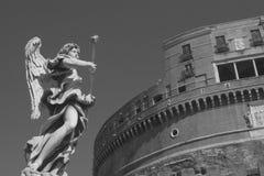 ängel rome Royaltyfri Fotografi