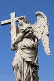 ängel rome royaltyfri foto