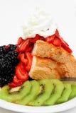 ängelbär bakar ihop mat Arkivfoton