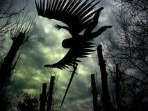 ängelflyg Arkivfoto