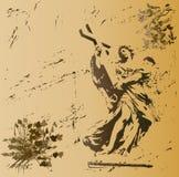 ängelgrunge vektor illustrationer