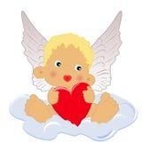ängelhjärta Arkivbild