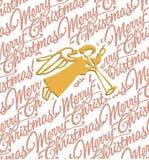 ängeljul Royaltyfria Bilder