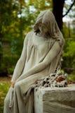 ängelkyrkogård Royaltyfri Foto