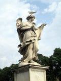 Ängellag med seagullen Royaltyfri Bild