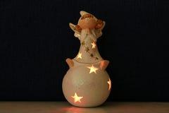 Ängeln av jul Fotografering för Bildbyråer