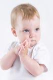 ängeln behandla som ett barn royaltyfri fotografi