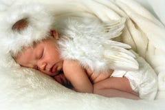ängeln behandla som ett barn Royaltyfri Bild