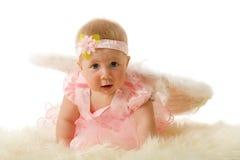 ängeln behandla som ett barn Fotografering för Bildbyråer