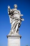 Ängeln med spikar i Rome Royaltyfri Fotografi
