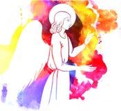 Ängeln välsignar Arkivfoto