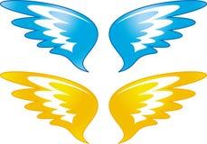 Ängeln wings (vektorn) Royaltyfri Foto